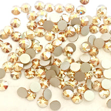 Swarovski Metallic Sunshine Crystals Glue On Flatbacks - Glitz It