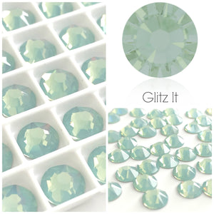 Swarovski Pacific Opal Crystals Glue On Flatbacks - Glitz It