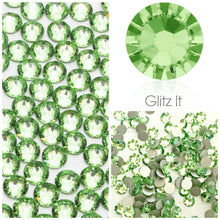 Swarovski® 2058 Small Pack Glue On Crystals: SS5 PERIDOT - Glitz It