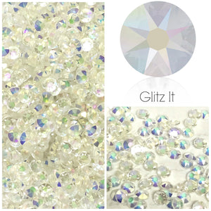 Swarovski® 2038 Small Pack Hotfix/Glue On Crystals: SS6 TRANSMISSION - Glitz It