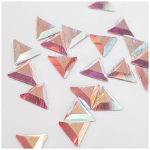 Swarovski 2711 Mini Triangle Flatback Crystals: Glue On 3.3mm - Glitz It