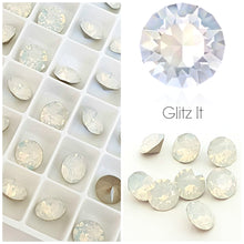 Swarovski White Opal Chaton Crystals - Glitz It