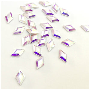Swarovski 2773 Diamond Shape Crystals Glue On Flatbacks - 6.6mm - Glitz It