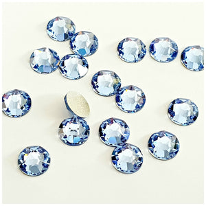 Swarovski Light Sapphire Crystals Glue On Flatbacks - Glitz It