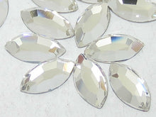 Swarovski Navette Marquis Crystals Glue On Flatbacks - Glitz It