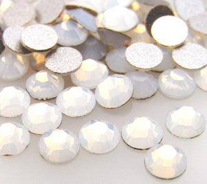 Swarovski Opal Crystals Mixed Size Glue On Flatbacks Small to Medium - Glitz It