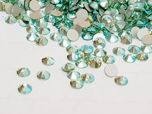 Swarovski Peridot AB Crystals Glue On Flatbacks - Glitz It