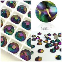 Swarovski Hotfix Flatbacks: Rainbow Dark - Glitz It