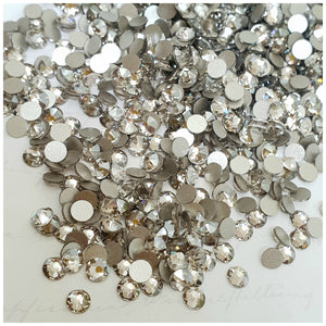 Swarovski Silver Shade Crystals Glue On Flatbacks - Glitz It
