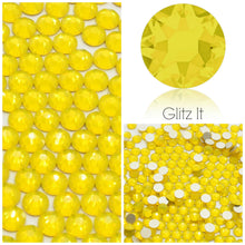 Swarovski Yellow Opal Crystals Glue On Flatbacks - Glitz It