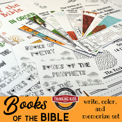 Books of the Bible in Order: Write, Color, and Memorize Set