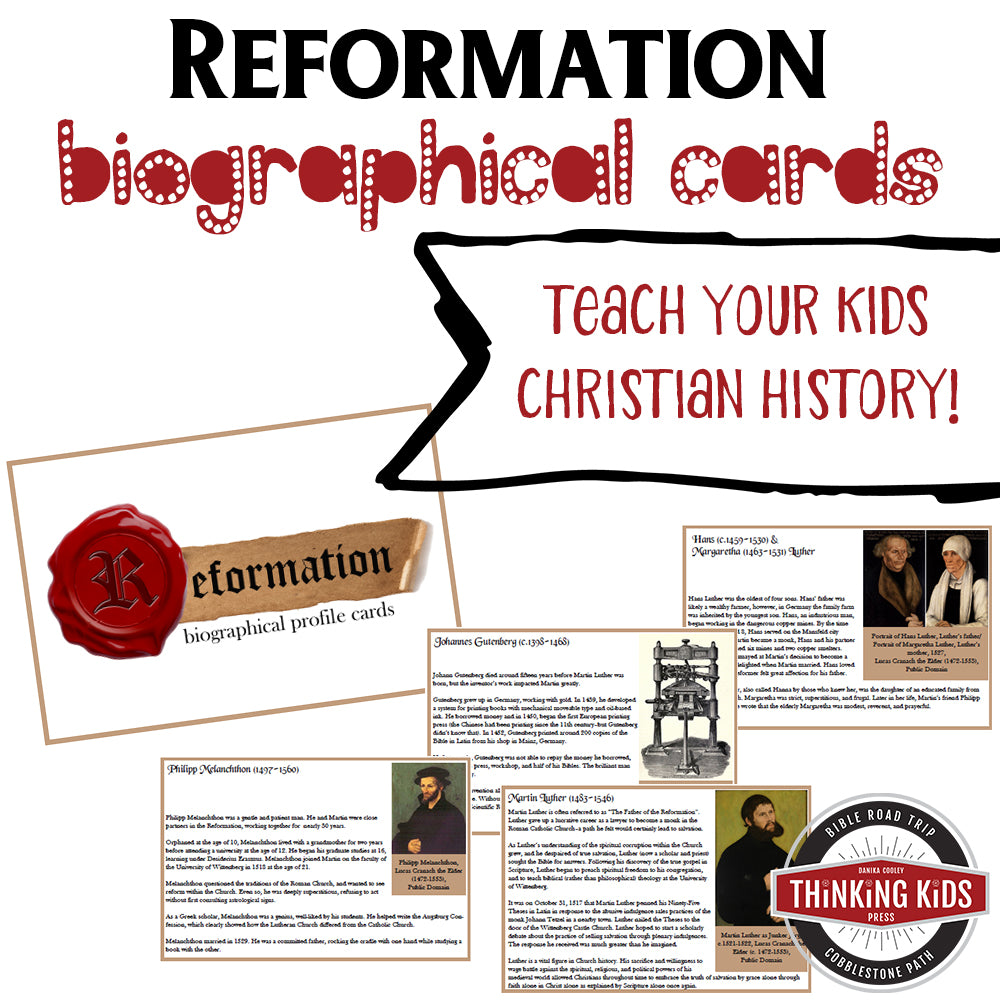 Reformation Biographical Profile Cards