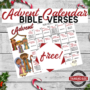 Advent Calendar with Bible Verses