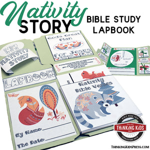 Nativity Story Lapbook