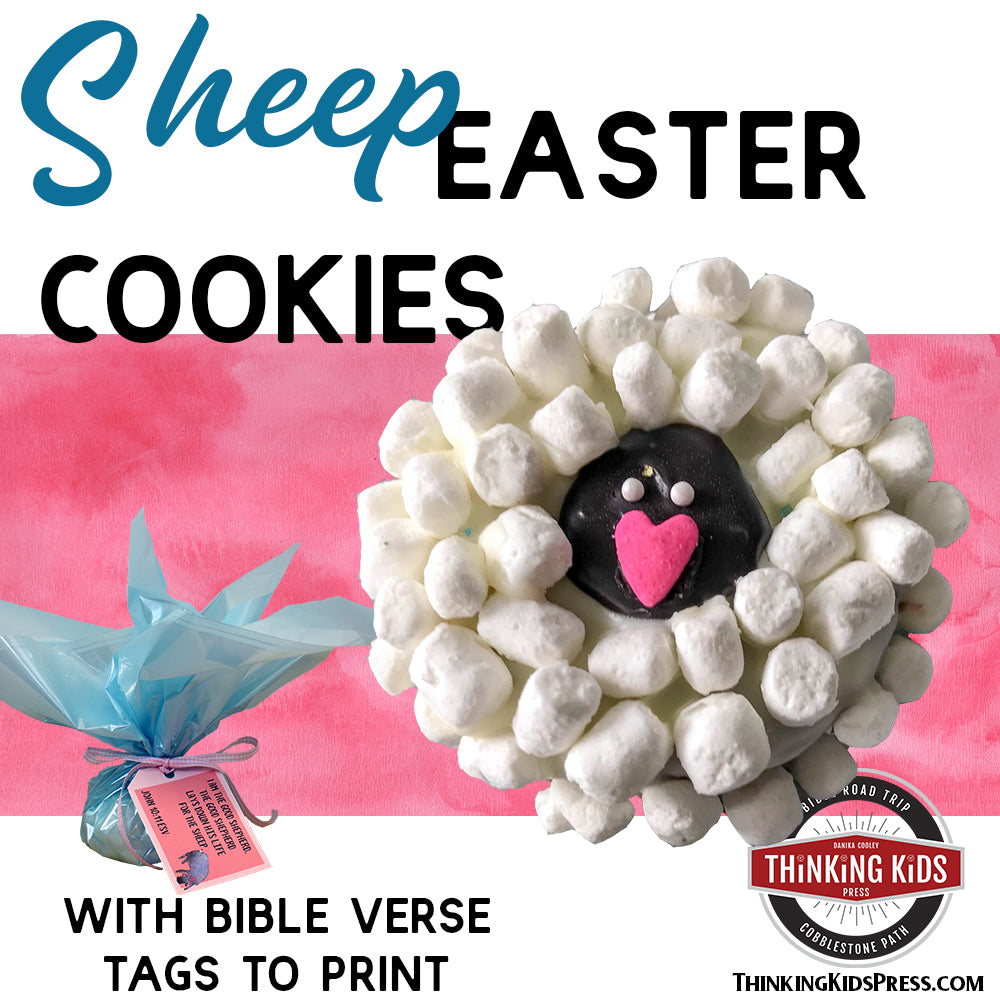Easy Sheep Easter Cookies