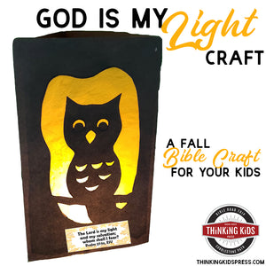 God is My Light Fall Bible Craft