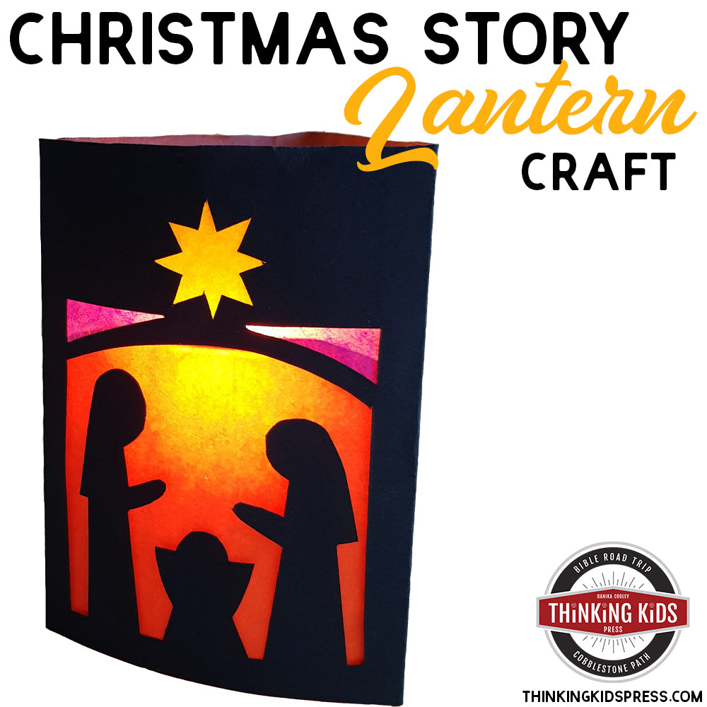 The Christmas Story Lantern Craft