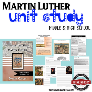 Martin Luther Unit Study