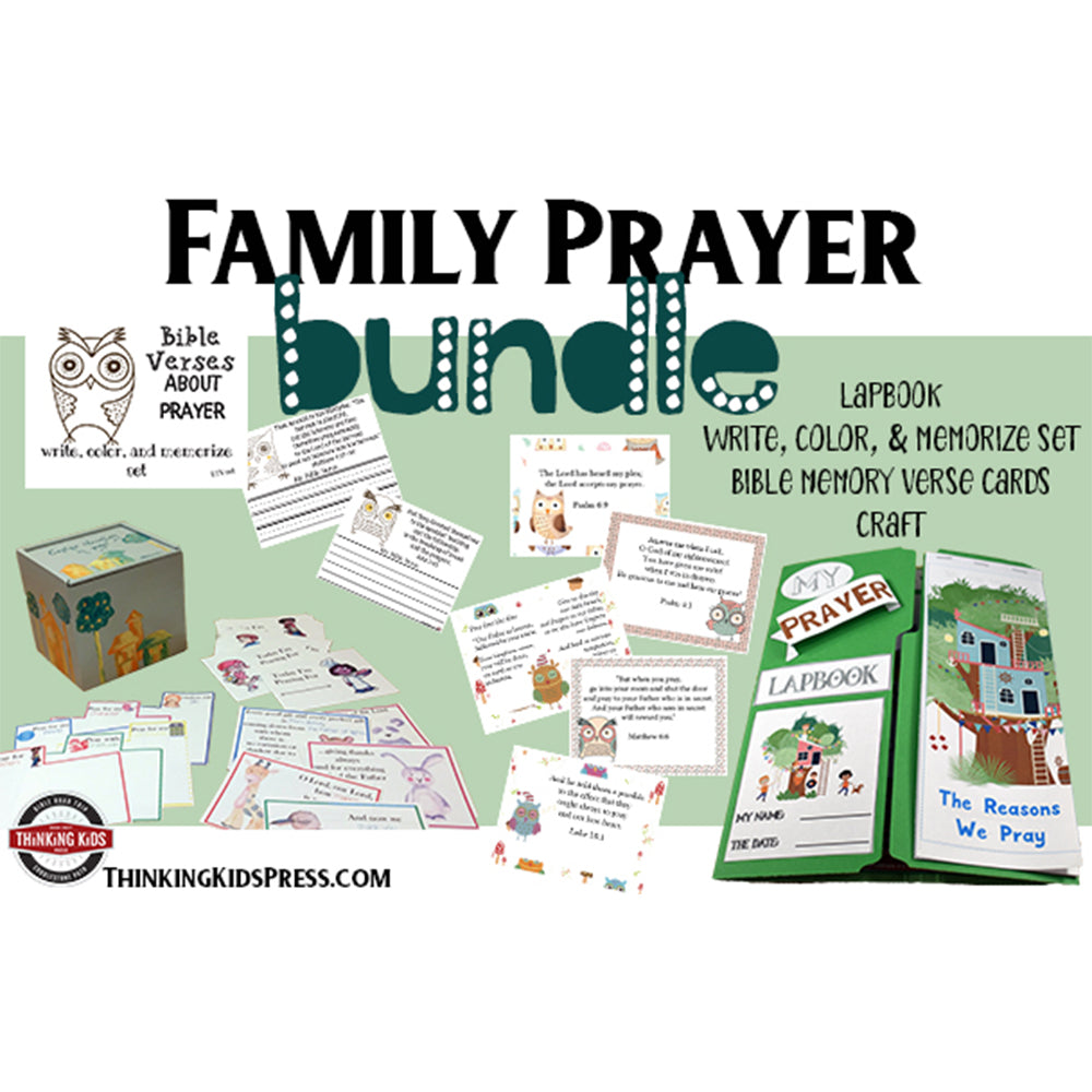 Prayer Family Bible Study Bundle