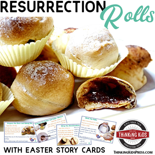Resurrection Rolls Recipe and Story Cards
