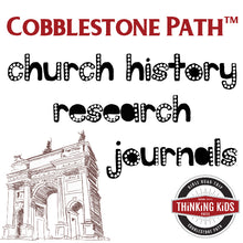 Cobblestone Path™ Church History Journals
