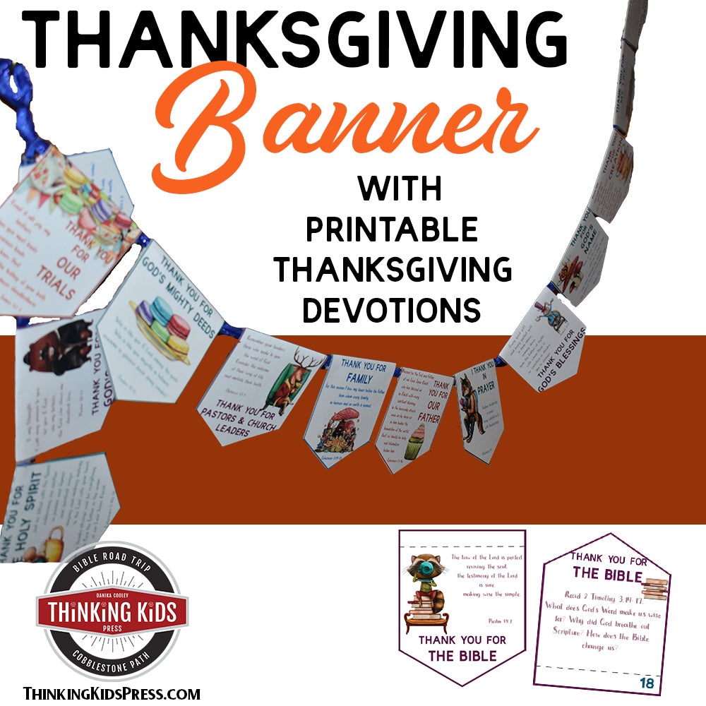 Thanksgiving Banner and Devotional