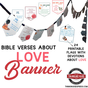 Bible Verses about Love Banner