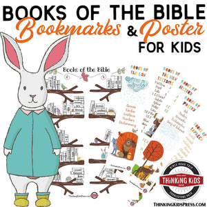Books of the Bible Poster and Bookmarks