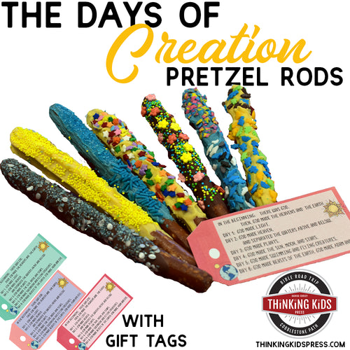 Days of Creation Pretzel Rods