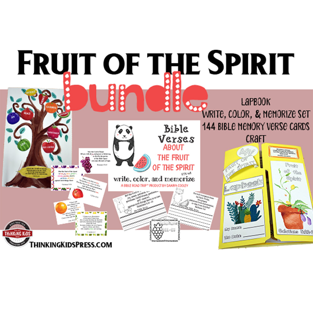 The Fruit of the Spirit Kids' Bible Study Bundle