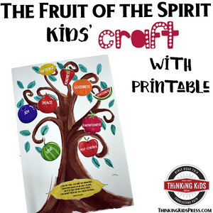 graphic relating to Printable Fruit of the Spirit called The Fruit of the Spirit Children Craft