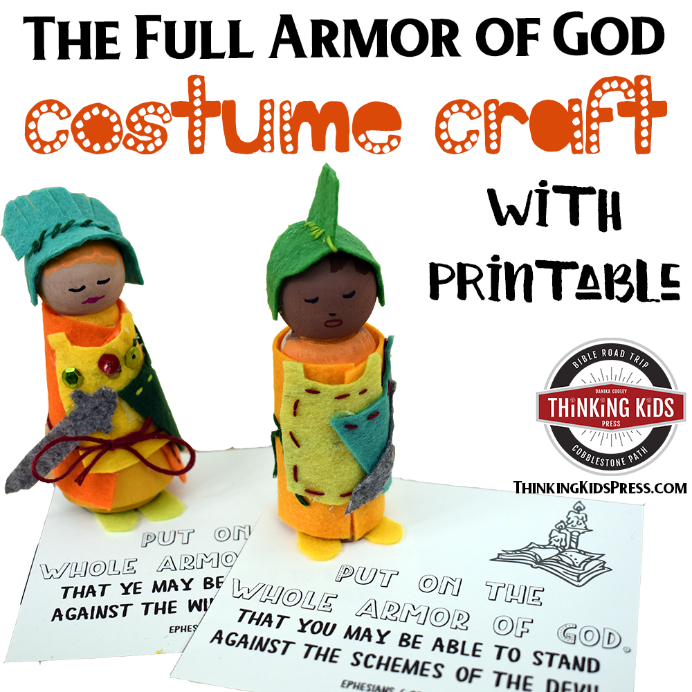 The Full Armor of God Costume Craft Doll