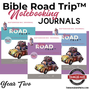 Bible Road Trip™ Year Two Notebooking Journals