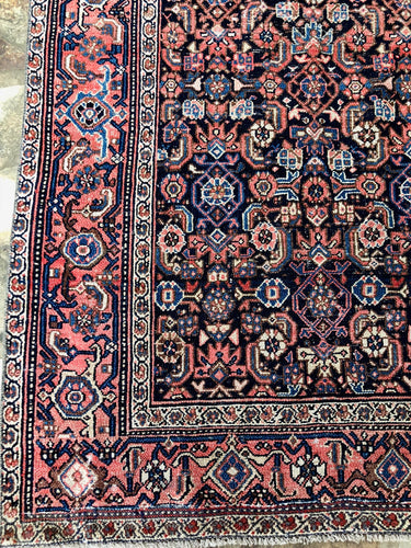 Antique Sine Rug, 4x6'4
