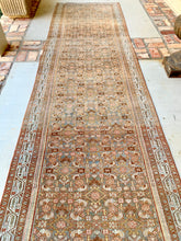 Antique Malayer Runner, 3'2x17