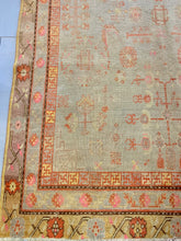 Antique Khotan, 5'10x10'10