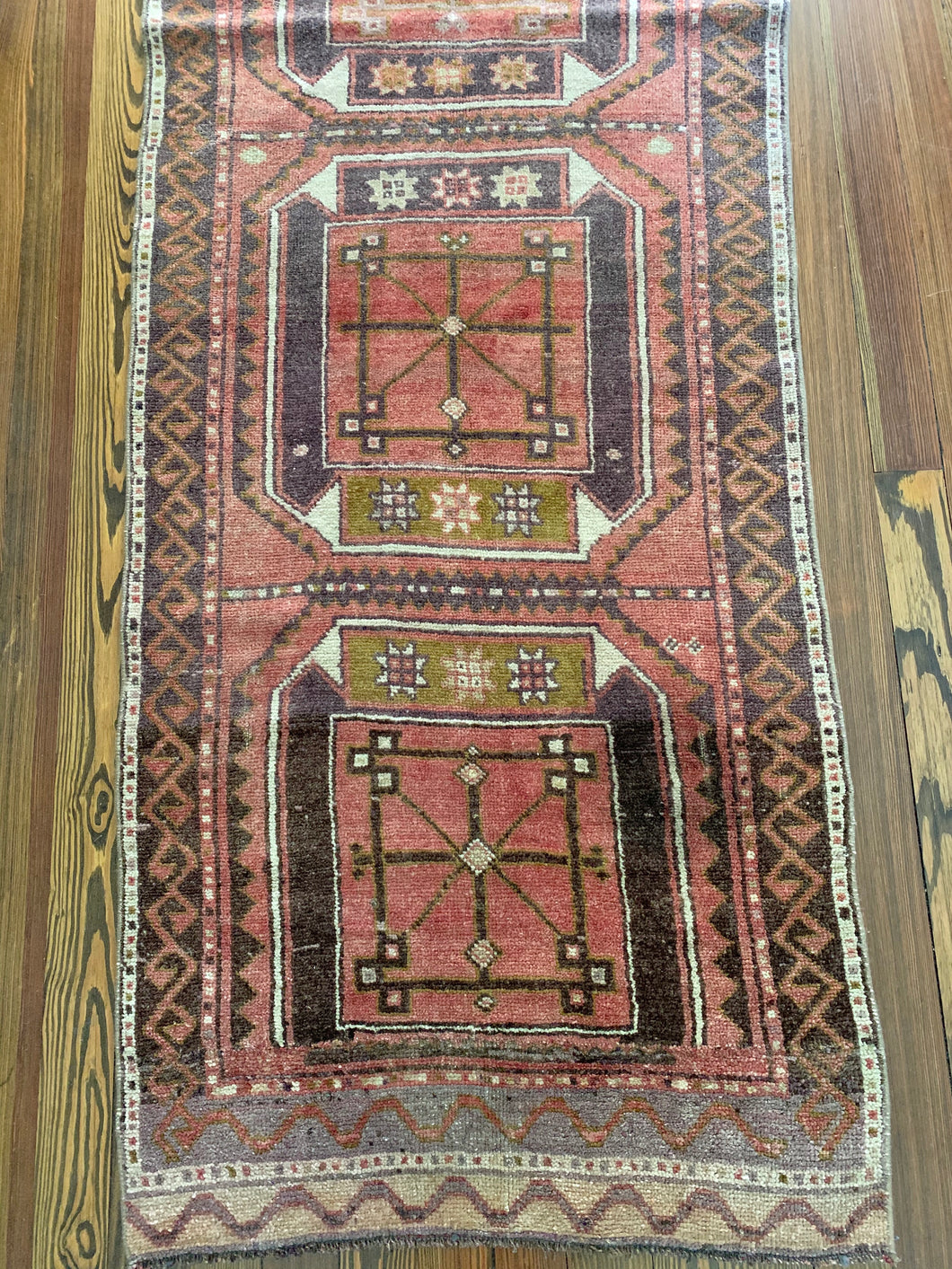 Vintage Anatolian Runner, 2'10x9'8 (on approval)