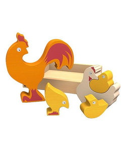 Begin Again Toys Chicken Puzzle