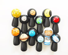 Solar System Peg Doll Set