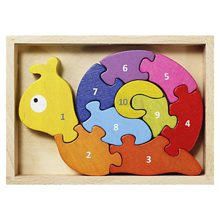 Begin Again Toys Snail Puzzle