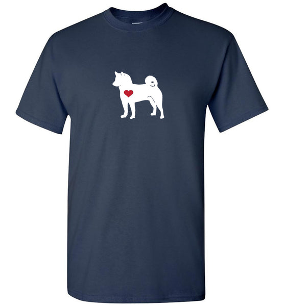 """Men's Shiba Crew Neck T-Shirt  ""Free Shipping USA"