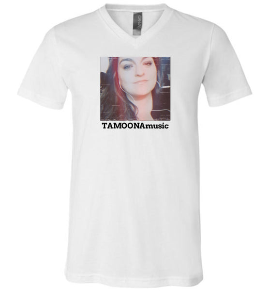 TAMOONAmusic -Unisex- Men's & Women's V-Neck Tee