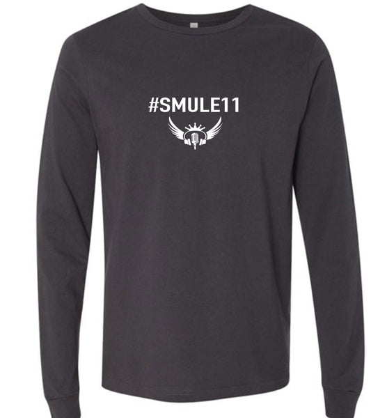 Unisex #SMULE11 Hashtag Microphone- LS Tee - *Free Shipping in USA