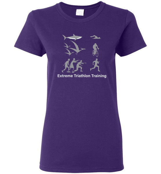 "Women's Extreme Triathlon Training - ""Free Shipping USA"""