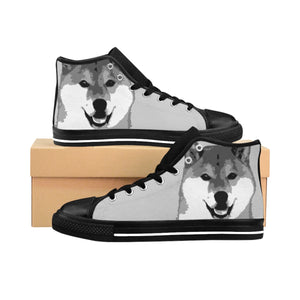"Men's Shiba High-top Sneakers  ""Free Shipping USA"""