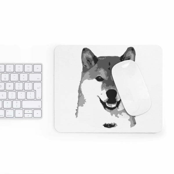 "Shiba Inu Mousepad ""Awe That Face""   ""Free Shipping USA"""