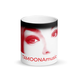 #TAMOONAmusic - Photo -Matte Black Magic Mug