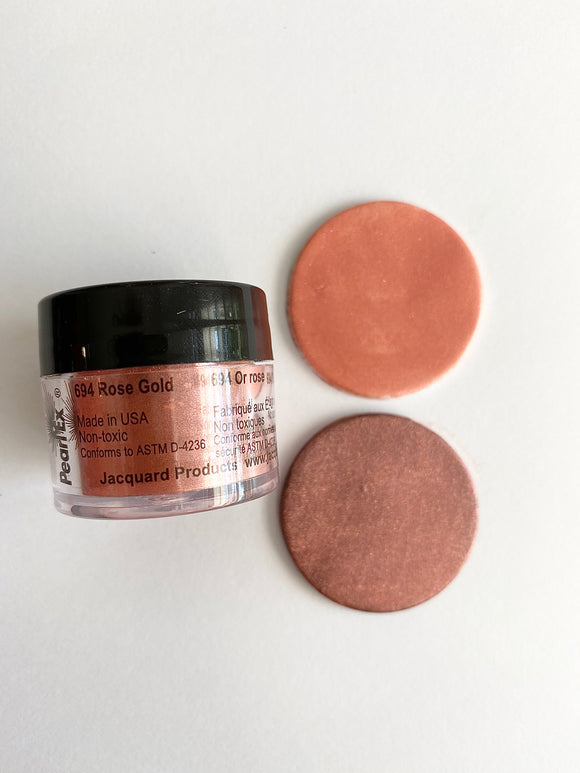 Rose Gold - Jacquard Pearl Ex Pigments