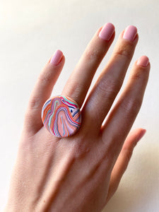 Wild Swirl Ring - Design 3