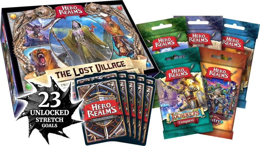 Looking forward to what Hero Realms is offering